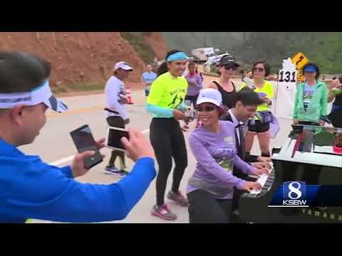 Big Sur International Marathon halfway point