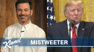 Jimmy Kimmel's Quarantine Monologue - Trump's Twitter Feud with Twitter