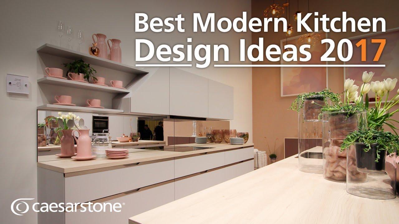 Best Modern Kitchen Design And Interior Ideas 2017 Youtube