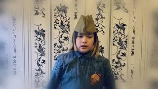 Гаврилов Никас (Ивантеевка Московской области) читает стихотворение Георгия Рублева