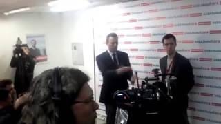 Вопрос от Представителя НОДа Навальному в Челябинске