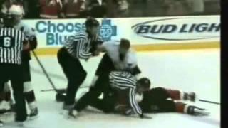 Супер хоккейная драка!!! NHL