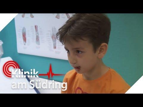 Junge (8) hat Glas gegessen - Warum will er seinen Mund nicht öffnen? | Klinik am Südring | SAT.1 TV