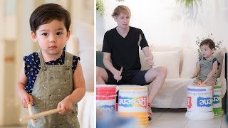 Yul decides to be a bucket drummer (and crashes his uncle's performance: The Drummer Gordo)
