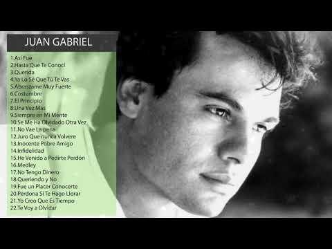 Juan Gabriel Exitos Mix Lo Mejor - Juan Gabriel Exitos Mix