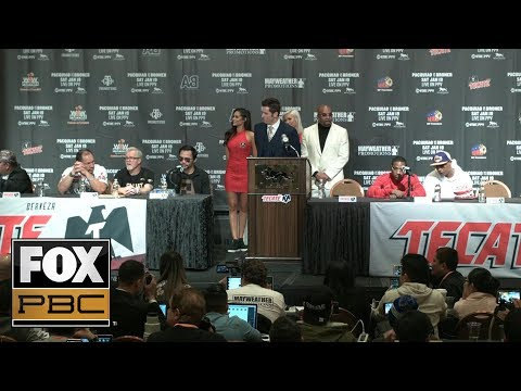 Manny Pacquiao, Adrien Broner post fight press conference | PRESS CONFERENCE | PBC ON FOX