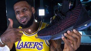 Lakers Sneaker Cam