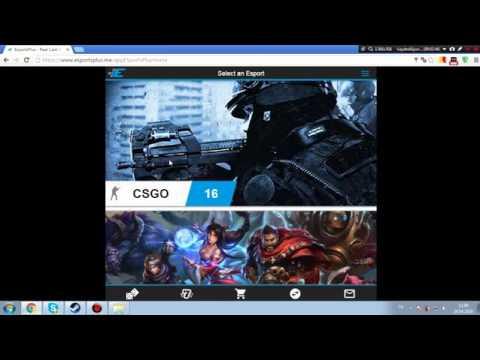 CS:GO Bedava skin kazanma sitesi esportsplus