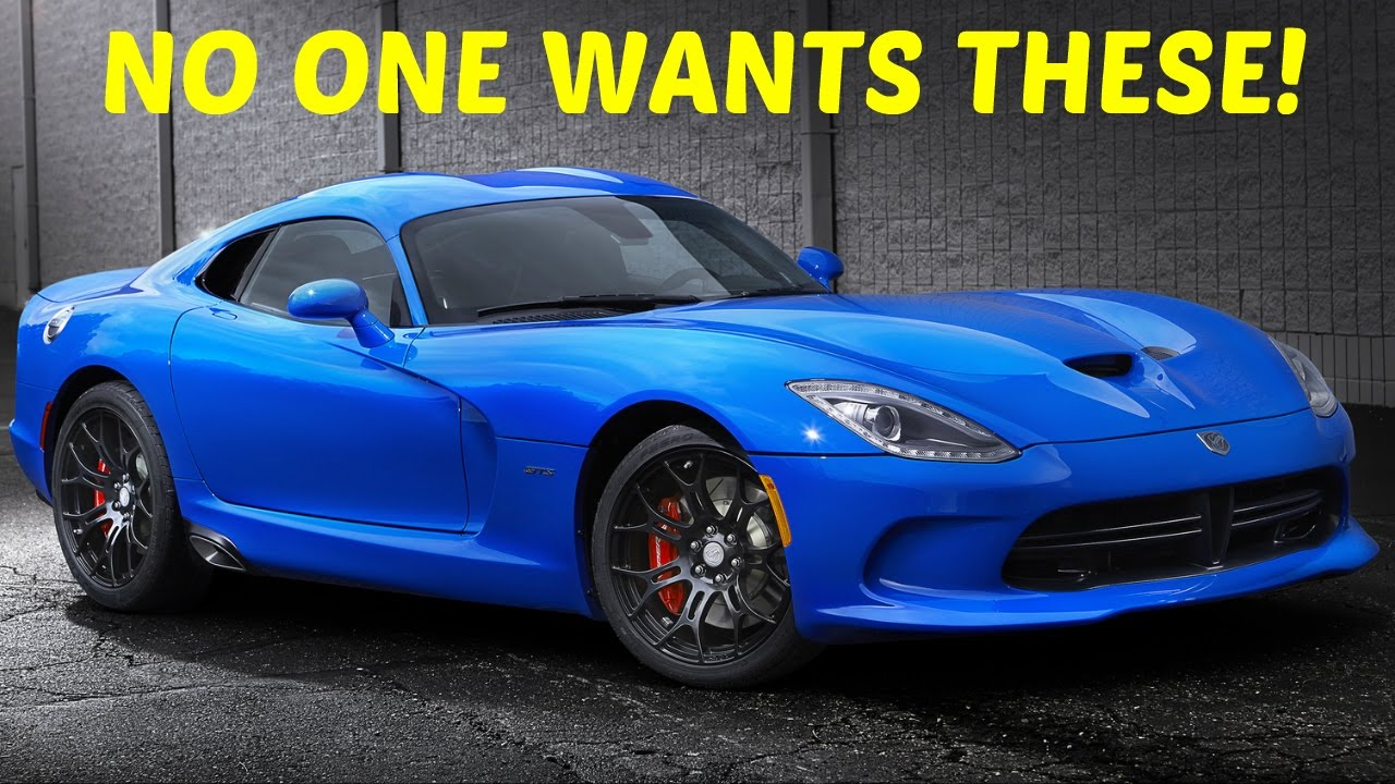 Top 10 Best Cars that Don\'t Sell From 2016 - YouTube