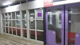 京都市営地下鉄東西線 初発列車「太秦天神川行き」山科駅5:26到着