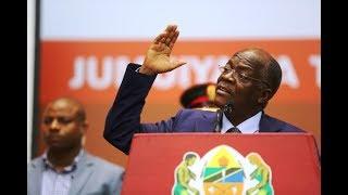 Rais Magufuli anahutubia mkutano mkuu wa chama cha walimu (CWT)