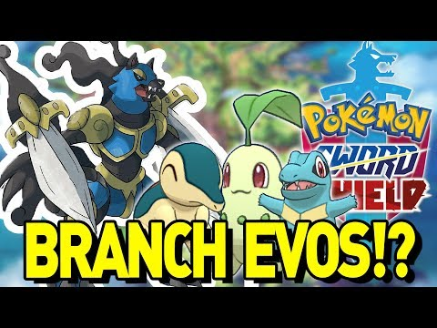 new-sword-and-shield-rumor!-branch-evolution,-evil-team-and-johto-starters!