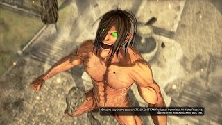 Attack on Titan True Attack Mode Eren vs Annie Walkthrough Part 20