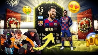 FIFA 20: OMG 💥 LUKEBAKIO ZIEHT MESSI in TOP 100  REWARDS FEAT. JORDAN UND SIDNEY  🔥 😱