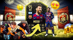 FIFA 20: OMG 💥 LUKEBAKIO ZIEHT MESSI in TOP 100  REWARDS FEAT. JORDAN UND SIDNEY  🔥 😱