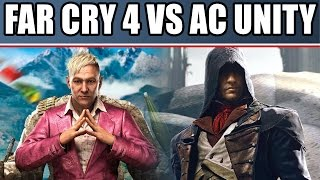 Far Cry 4 vs Assassin's Creed Unity Review: Gameplay, Coop, Multiplayer & Graphics Comparison