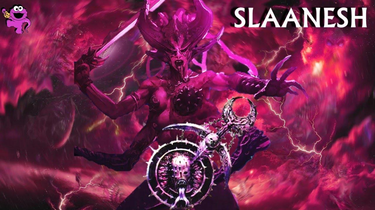 Slaanesh In Total War Warhammer 3 Daemons Of Chaos Lore Army