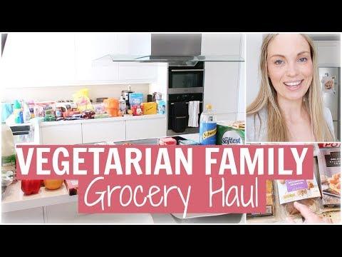VEGETARIAN ALDI (& TESCO) GROCERY HAUL   MEAT FREE MEAL IDEAS