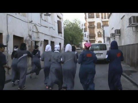 Saudi women exercise their new right to jog