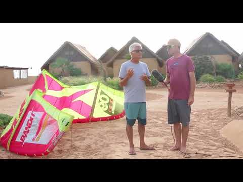 2018 F-One Kites and Control Bar at F-One Dakhla Meeting