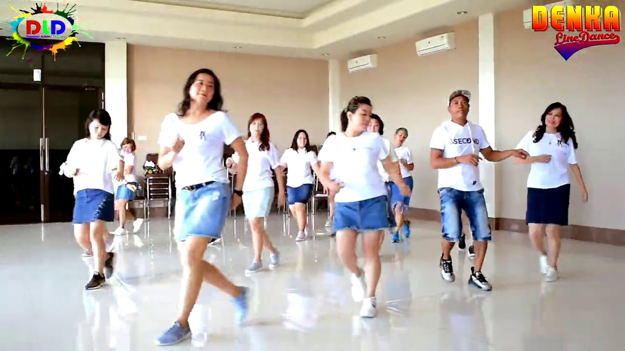 NONA MANADO    LINE DANCE    KUPANG NTT    CHOREO DENKA NDOLU   