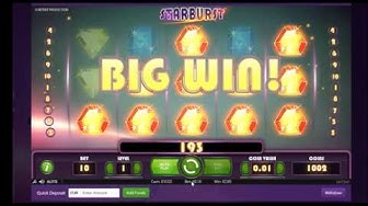 Playing Starburst Slots in Triobet Online Casino