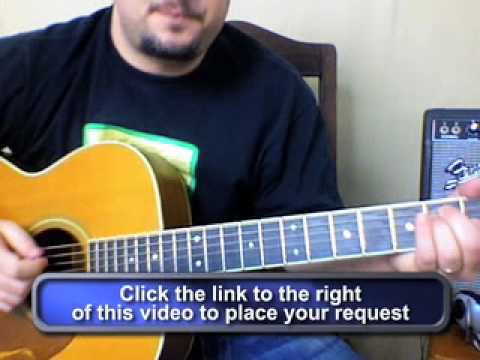 Guitar Lessons - Upside Down by Jack Johnson - cover tutorials Beginners