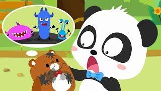 ★NEW★壞蛋細菌來了!泡泡小戰士出動 | 好習慣兒歌 | 童謠 | 動畫 | 卡通 | 寶寶巴士 | 奇奇 | 妙妙