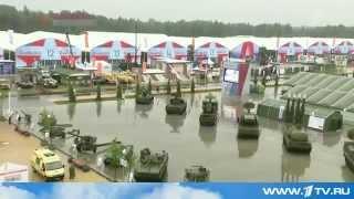 16 июня 2015 года. Форум «Армия 2015» открылся в Кубинке, Россия