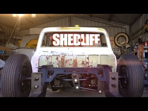 SHEDLIFE ! 2wd DIFF lock is FUN