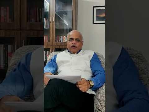 Dr.Vinay Sahasrabuddhe addressing #ICAN #INDIACAN platform in Hindi