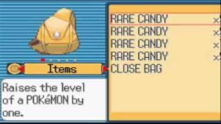 Pokemon Ruby - Rare Candy Gameshark Cheat Code