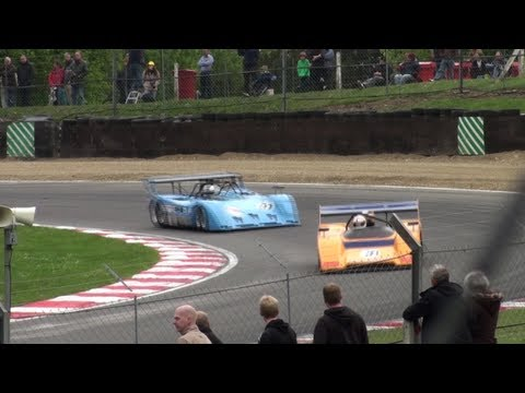 Can Am Racing Cars In Action Part Hd Youtube