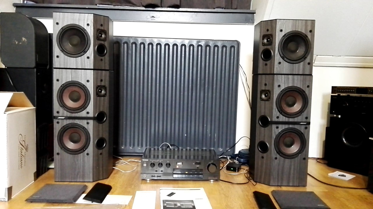Bose 2001 4001 Direct Reflecting Speakers Youtube