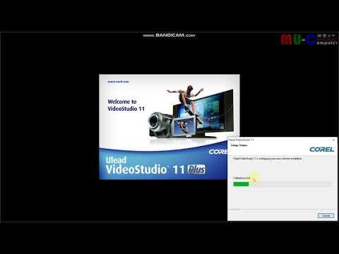 การติดตั้งโปรแกรมตัดต่อวีดีโอ ulead11