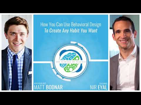 How You Can Use Behavioral Design To Create Any Habit You Wa