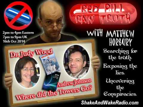 Dr. Judy Wood & Andrew Johnson on Red Pill Raw Truth with Matthew Horbury - Oct. 23, 2014 - 2 of 9