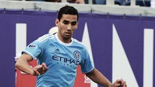 GOAL: Mehdi Ballouchy curls a shot past McCarthy | New York City FC vs Philadelphia Union