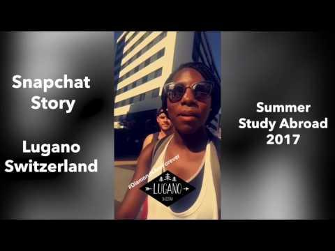 Study Abroad in Lugano, Switzerland 2017 | Snapchat Story