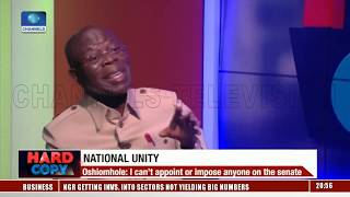 I Can't Appoint Or Impose Anyone On The Senate - Adams Oshio…