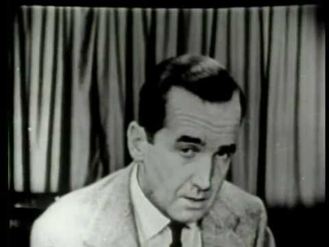 Murrow on McCarthy, no fear, 1954