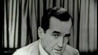 Murrow on McCarthy, no fear, 1954