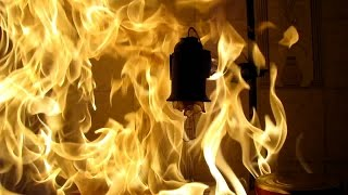 Incandescent lamp (220V) filled with hexane. (Experiment with uncontrolled fire) Mp3