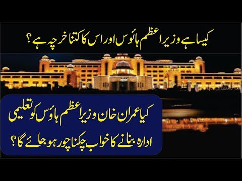 Prime minister house and President house of Pakistan expenses explained in Urdu thumbnail