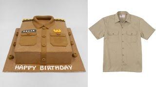 Shirt Cake Decoration Uniform