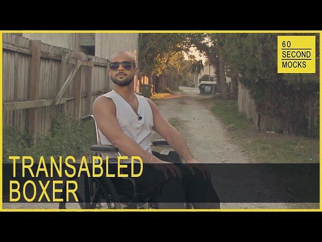 Transabled Boxer // 60 Second Mocks // Mini-Mocks Original One Minute Documentary