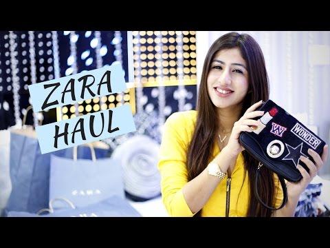 Huge Zara Haul 2016 | Simran Bhatia