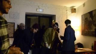 GRUPA PORNO / wernisaż ZŁEJ ŚTUKI / grupa wykonuje ODĘ DO RURY / 20.02.2015 / Bar Miejsce
