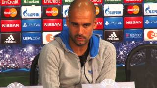 Pep Guardiola: Meister dank Jupp Heynckes | FC Bayern München - AS Rom