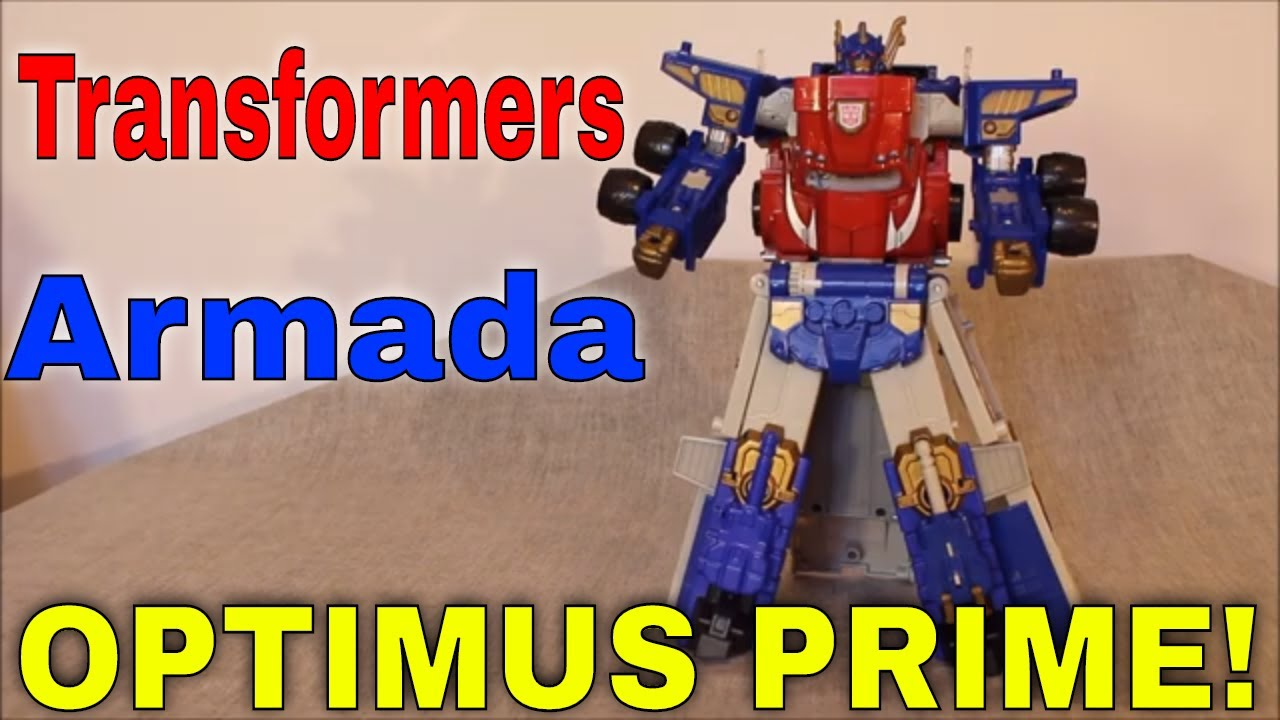 Armada Optimus Prime: It'll be a Success if He Doesn't Catch on Fire by GotBot